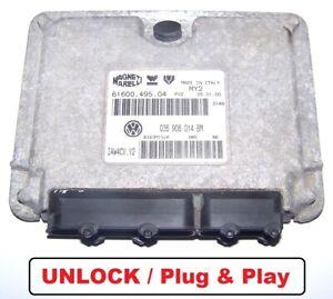Steuergerät VW Polo 6N2 1,4l 16V 55KW 036906014BM IAW4CV.V2 ECU IMMO UNLOCK