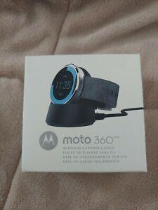 Genuine Motorola Moto 360 Wireless Charging Dock for Moto 360 Smart Watch