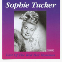 Sophie Tucker - Last of the Red Hot Mommas CD- UK Import- OOP- Excellent RARE