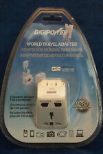 DigiPower Acp-Wta World Travel Adapter Wall Power Converter Usb Charger