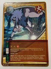 Chidori Jutsu Lot 764 1st Edition Sasuke Uchiha Water NM CCG 3 Naruto Cards