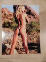 STACY KEIBLER AUTOGRAPHED 11X14 PHOTO WWE