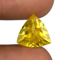 Trillion Yellow Spinel Srilankan 7.65 Ct Gemstone 100% Natural Certified X9608