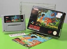 Disney Le livre de la jungle super nintendo snes emballage d'origine Sammlung