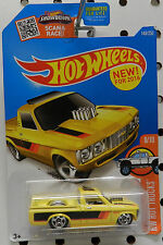 1972 72 CHEVY LUV CUSTOM PICKUP TRUCK PRO STREET DRAG YELLOW 148 HW HOT WHEELS