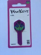Wackeys Colorful Owl Purple Blank House Key Kw 1/66 Kwikset
