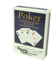 Holzkassette mit 2 Karten Spielen und 5 Würfeln 4 Joker 2 x 52 Spielkarten
