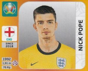 Panini Euro Em 2020 - 2021 Tournament Edition Sticker No. 403 Nick Pope