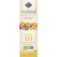 Mykind Organics Vegan D3 Organic Spray 58ml