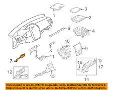 VW VOLKSWAGEN OEM GTI Instrument Panel Dash-Outer Molding Left 1K1858419Z88