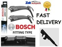 Vauxhall Astra Mk5 H (2004-)ALL MODELS FRONT WIPER BLADES BOSCH AEROTWIN SET NEW