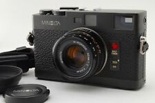 NEAR MINT!! MINOLTA CLE Camera Body w/M-ROKKOR 40mm F2 Lens From Japan #155