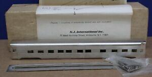NJ International 0821 HO New Haven Pullman Standard 6-6-4 Sleeper Kit BRASS NIB