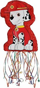 Fire Station Dalmatian- Pull String Pinata (17.5 x 12 x 6 In) Large!
