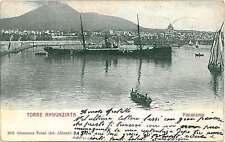 CARTOLINA d'Epoca - NAPOLI : TORRE ANNUNZIATA 1902