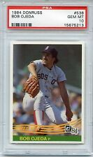 1984 DONRUSS #538 BOB OJEDA RED SOX PSA 10 GEM MINT POP 12