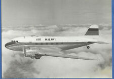 Air MALAWI Airlines Postcard VP-YKM