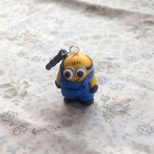 minion dust plug Handmade So Cute Gift Phone Charm Stopper
