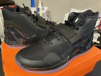 Nike Air Force Max Men's Size 10 Triple Black Anthracite Basketball AR0974-003
