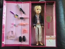 Mattel Teen Trends Poseable Gabby Doll & Cool Case Closet, Earrings & Necklace
