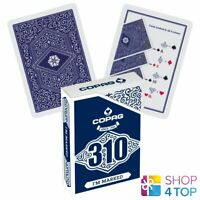COPAG 310 I'M MARKED POKER PLAYING CARDS DECK PAPER STANDARD INDEX BLUE NEW