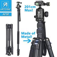 Aluminum Alloy Tripod 201cm/79in Max Height Tripod Monopod Stand For DSLR Camera