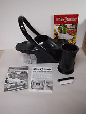 Slice O Matic #4907 As Seen on TV Black in Box Great for French Fry Potatoes