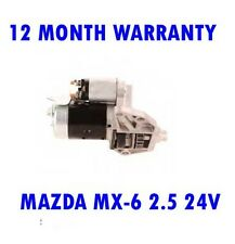 MAZDA MX-6 2.5 24V 1992-1997 STARTER MOTOR 12 MONTH WARRANTY