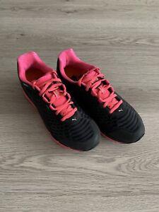 Damen Puma Sneaker Gr. 40 Faas 500 V2 Schwarz Pink Neuwertig