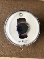 Motorola Moto 360 2nd Gen 46mm Mens Smart Watch Silver