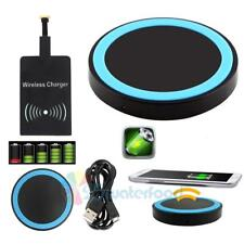 Universal Qi Wireless Charger Pad with Charging Receiver for Android Cellphone