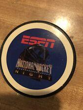 ESPN NHL Hockey Night Puck Commemorative National Rare