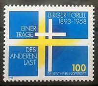 BRD Bund Michel Nr.1693 postfrisch** (1993) Birger Forell