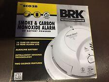 BRK First Alert SCO2B CARBON MONOXIDE & SMOKE ALARM COMBO DETECTOR SCO2B