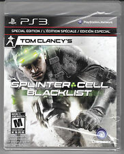 Tom Clancy's Splinter Cell: Blacklist Special Edition PS3 NEW