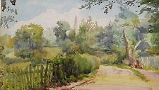 ROBERT THORNE WAITE - Original Signed Watercolour - Uckfield