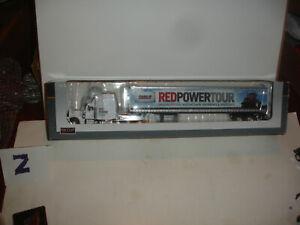 1/64 Case IH Peterbilt 379 Semi with Red Power Tour Logo