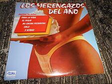 SEXY NUDE COVER SPAIN Los Merengazos LP 1987 LATIN minaya+villalona+haitianito