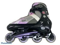 Schwinn ABEC-5 Girls Youth Adjustable Size 5 6 7 8 Roller Blades InLine Skates