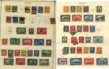 Canada lot  on  3  album pages             KEL1211