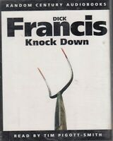 Dick Francis Knock Down 2 Cassette Audio Book Abridged Thriller FASTPOST