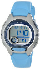 Casio LW-200-2BV Ladies Blue Digital Watch LED Light Resin Sports Brand New