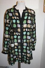 Camisas y tops de mujer de color principal negro de seda talla 38