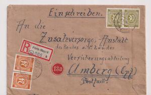 Gemeinsch.Ausg. Mi. 928, 925, R-Fürth - Amberg, 8.7.46