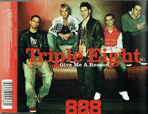 """TRIPLE EIGHT - 5"""" CD - Give Me A Reason (+ K-Warren Remix + Video)"""