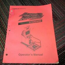 NAMCO ALPINE RACER 2 STANDARD EDITION OPERATOR'S MANUAL, WIRING, PARTS LIST, GUC