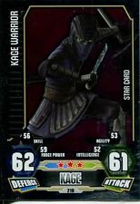Star Wars Force Attax Series 3 Card #210 Kage Warrior