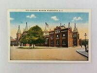 Old National Museum Building Vintage Postcard Washington DC