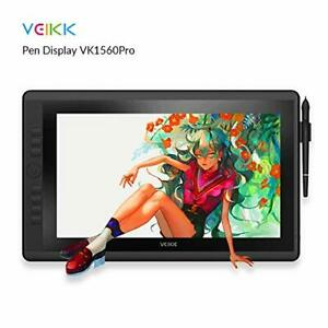 VEIKK VK1560 Pro 15.6 Inch Pen Display Graphics Monitor IPS HD Screen