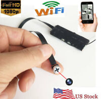 Wireless WiFi Hidden Spy DIY screw Camera Full HD 1080P Module DV DVR Motion Cam